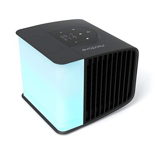 Evapolar evaSMART Luftkühler & Luftbefeuchter - Tragbarer Kühl-Ventilator mit Smart App Control & Alexa-Unterstützung - Bunte LED-Hintergrundbeleuchtung - Flüsterleiser Betrieb & einfache Bedienung