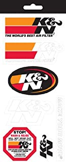 K&N 89-11831 Sticker Sheet