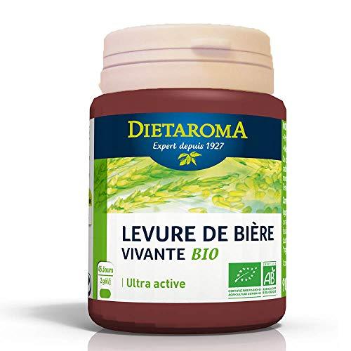 Dietaroma Complément alimentaire Levure de bière vivante bio x90 géllules
