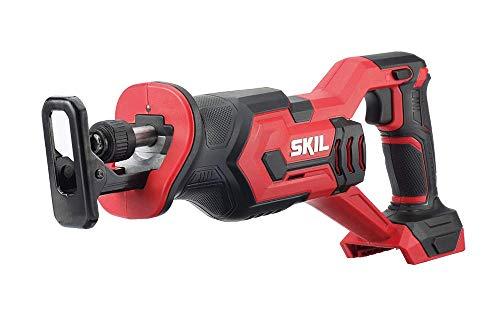 SKIL 20V Compact Reciprocating Saw, Bare Tool - RS582901 (Renewed)