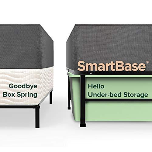Zinus Shawn 14 Inch SmartBase Mattress Foundation / Platform Bed Frame / Box Spring Replacement / Quiet Noise-Free / Maximum Under-bed Storage, Twin