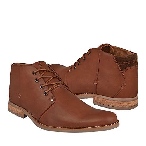 STYLO Zapatos DE Vestir para Caballero 916 SIMIPIEL Tan 26