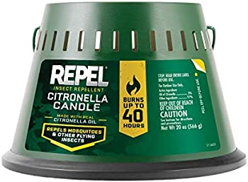 Repel Insect Repellent Citronella Candle 20-Ounce