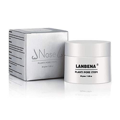 Original LANBENA Blackhead Remover Cream Facial Nose Mask Plant Pore Strips Acne Peel Off