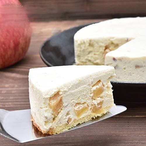 砂糖不使用 レアチーズ ケーキ 羅漢果 りんごとナッツのレアチーズケーキ お中元 ギフト りんご 食べ物 低...
