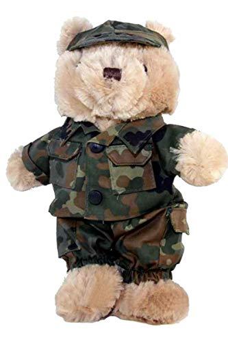 MIL-TEC  Teddy mit Anzug Farbe: Flecktarn