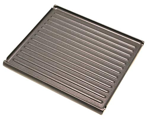 SEVERIN Grillplatte 1455048 kompatibel mit/Ersatzteil RG2674 Raclette
