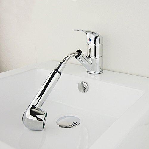 Baytter Einhebel Waschtischarmatur Wasserhahn Spültisch Küche Waschtisch Waschenbecken Bad - 6