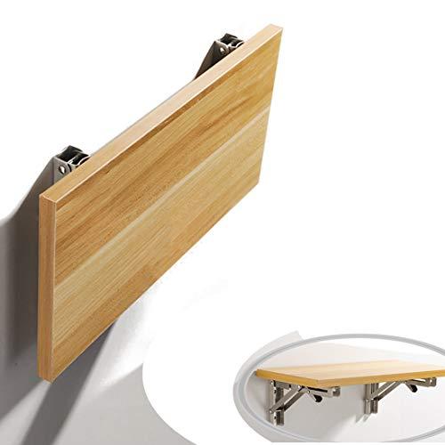Schreibtisch Tische Wandtisch Wand-Klapptisch Multifunktion, Wandmontage Duty Kleiner Klappwandtisch integrierter einfacher schwebender klappbarer Laptop-Schreibtisch platzsparender Hängetisch