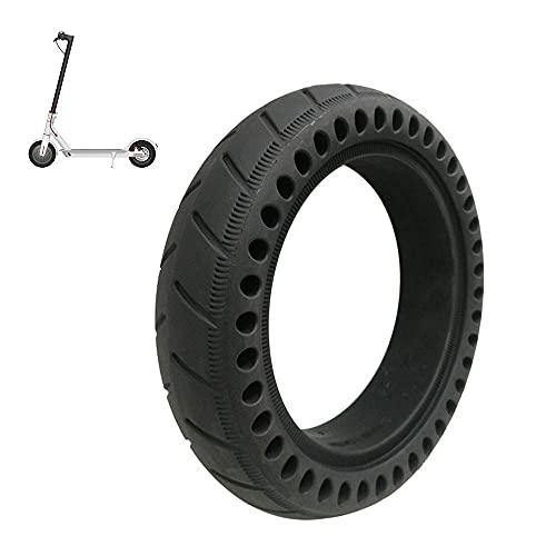 Neumático para scooter, 8.5 pulgadas 8 1/2x2 Honeycomb Neumáticos sólidos a prueba explosiones, Amortiguadores resistentes al desgaste y sin mantenimiento, Apto para scooters, 2 piezas, Fácil instal