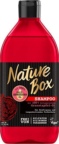 Nature Box Shampoo granaatappel, 385 ml, 3-pack (3 x 385 ml)