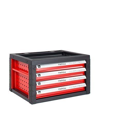 Aufsatz, Werkzeugkiste für Werkzeugwagen, rot