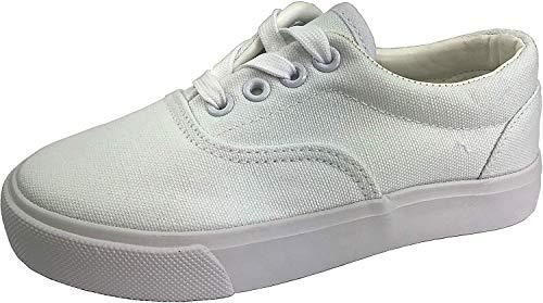 K KomForme Toddler Sneakers Boys & Girls Slip On Canvas Shoes