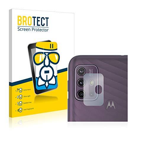 BROTECT Panzerglas Schutzfolie kompatibel mit Motorola Moto G10 (NUR Kamera) - AirGlass, extrem Kratzfest, Anti-Fingerprint, Ultra-transparent