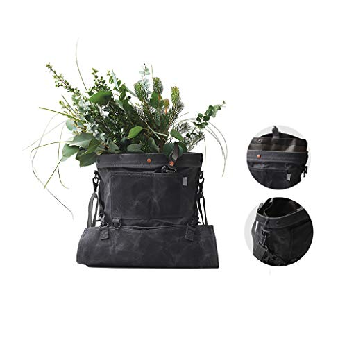 Great Price! Dark Gray Travel Bag Bottom Opening Outdoor Collection Bag Multifunctional Gardening Ba...