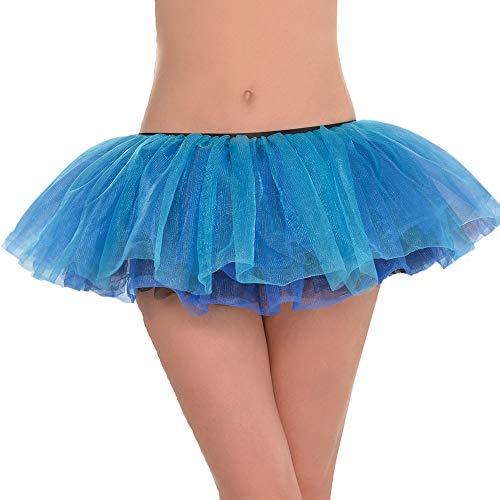 Yummy Bee Falda Tutu Mujer - Disfraz Disfraz - Burlesque Halloween - Talla 36 38 40 42 Adulto (Azul)