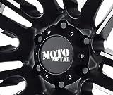 Moto Metal 978 Razor Center Cap MO978 Gloss Black fits 6x135 (Ford) wheels