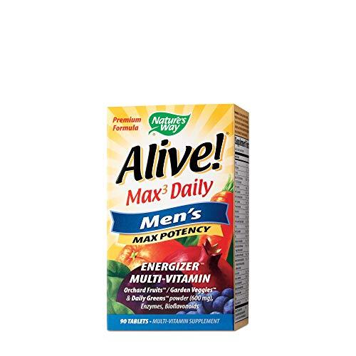 NATURES WAY Alive! Men's Multi Vitamin, 90 CT
