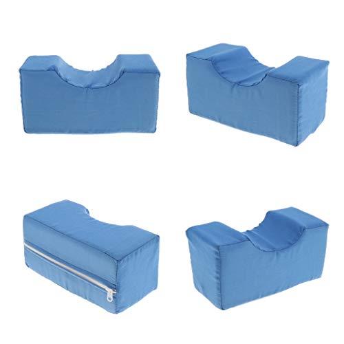 Sharplace - Cojín para piernas de espuma de alta densidad, almohada para dormir en el lateral, soporte para piernas y espalda, sueño cómodo