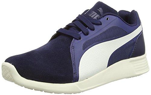 Puma St Evo Suede - Zapatillas de running Unisex adulto, Azul (Azule (Peacoat/Whisper White)), 37 EU