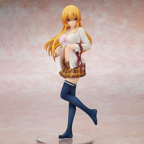 ZW18U Best Gift Toy Food War Shokugeki No Soma Erina Nakiri PVC Action Figure Model Toys Sexy Girl Figure Collection Doll Gift Computer Desktop Ornament Creative Gift for Fans Otaku Favorite