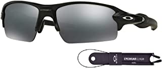 Oakley Flak 2.0 OO9295 Sunglasses For Men+BUNDLE with Oakley Accessory Leash Kit