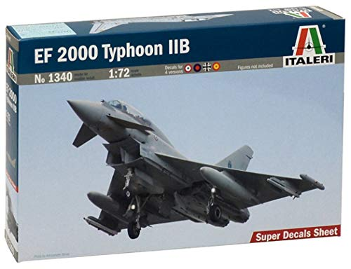 Italeri 1340 - Ef 2000 Typhoon (Twin Seater) Model Kit  Scala 1:72