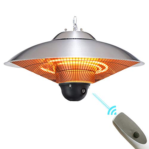 Buy 1.5KW Electric Hanging Ceiling Patio Heater, Suitable as BBQ Party Heater, Outdoor Balcony Heate...