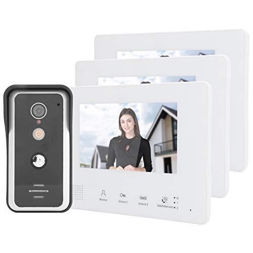 Videoportero Teléfono Timbre Sistema de intercomunicación Sistema de 2 cables Video Timbre...