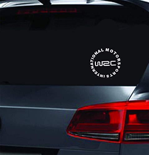 Pegatinas Adhesivas Para Coche Motorsports International Car Sticker Wrc World Rally Stickers Adherido Tapa del tanque de combustible para el coche Laptop Window Sticker