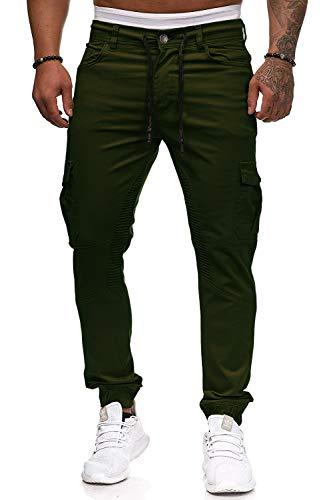 Cassiecy Herren Hose Jogger Chino Cargo Jeans Hosen Stretch Sporthose Herren Hose mit Taschen Slim Fit Freizeithose