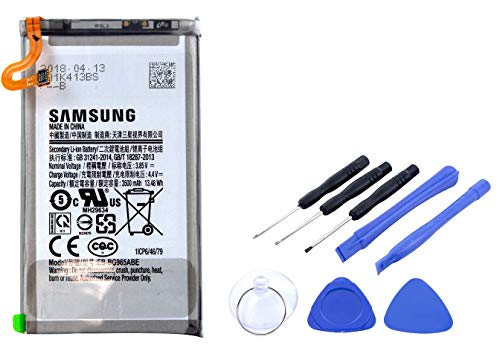 Batería 2 en 1 para Samsung Galaxy S9 Plus, batería de Ion de Litio de Repuesto con 3500 mAh, Incluye Juego de Herramientas
