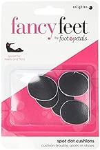 Fancy Feet Women's Spot Dot Cushions, Black