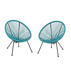 Acapulco chairs for a modern patio or breezeway