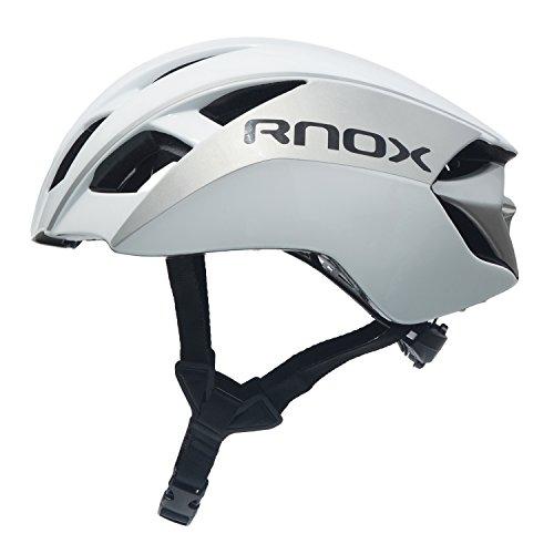 RNOX In Mould Casco de Ciclismo para Adultos Bici Deportes con Gafas...