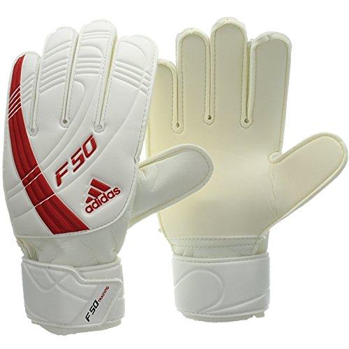 adidas F50 Training - Jungen Torwarthandschuhe/Handschuhe Weiß 12