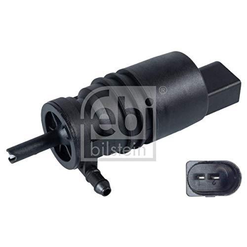 febi bilstein 109290 Waschwasserpumpe für Scheiben-und Scheinwerferreinigungsanlage, mit Dichtring, 1 Stück