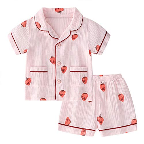 2t girls pajamas short sleeve
