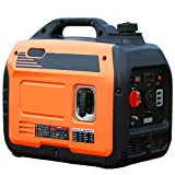 LYYAN Generador de casa portátil, conversión de frecuencia 220v pequeño generador de Arranque Manual silencioso 3000W generador de Onda sinusoidal Pura Adecuado para Salidas