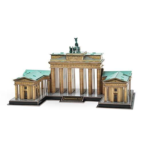 Puzzle 3D Tridimensional, alemán Puerta de Brandenburgo arquitectónico Modelo del Rompecabezas Creativo Montaje de Juguete de Regalo Rompecabezas 3D