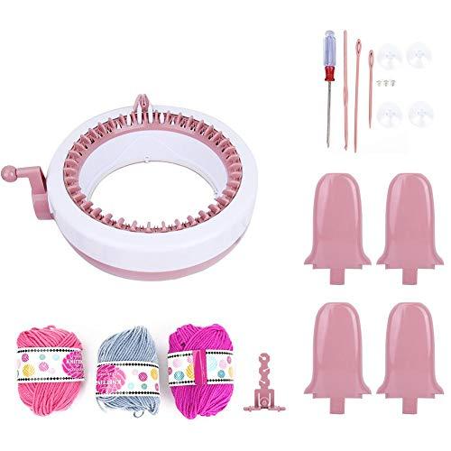 Hand breimachine, DIY Plastic hand breien naaimachine Kinderen weven speelgoed Tool accessoires Kinderen weven naaimachine (40 naalden)
