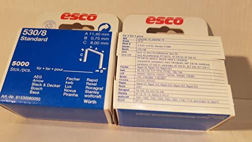 Klammern 530/8mm Standard esco