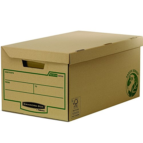 Fellowes 4472201Caisse D Archivierung Flip Top Maxi Banker Box Earth Series-Montage Handbuch (10Stück) thumbnail