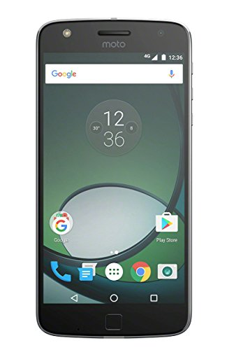 moto Z play Smartphone (14 cm (5,5 Zoll), 32 GB, Android) Schwarz/Silber