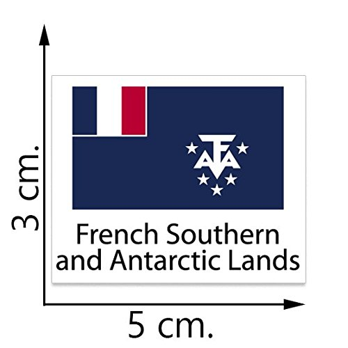 French Southern and Antarctic Lands Flag Temporary Tattoos Sticker Body Tattoo