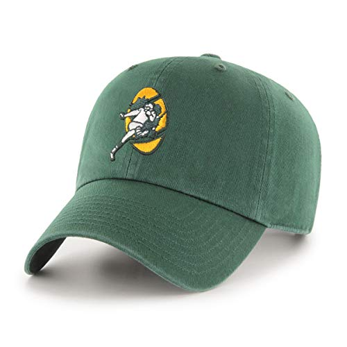 Green Bay Packers  NFL 100 Men's OTS Challenger Adjustable Hat, Current Day, One Size