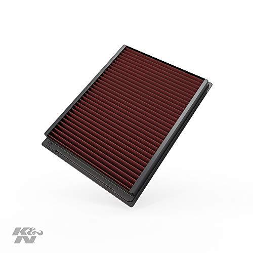 K&N 33-2231 Filtro de Aire Coche, Lavable y Reutilizable