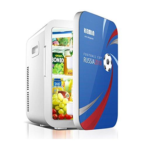 JCOCO 20L double réfrigération voiture réfrigérateur mini petit réfrigérateur petit ménage mini dortoir voiture maison double usage froid et chaud (Couleur : 2)
