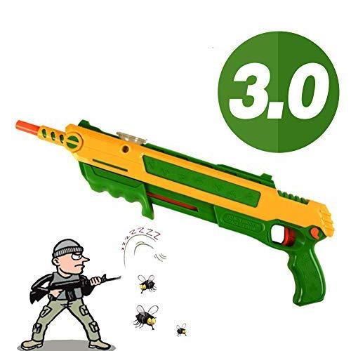 APOKI Fly Salt Mosquito Insekten Mörder Gewehr Bug Blow Salt Bullets Blaster Airsoft Insect Eradication,3.0-Toy Pistole Spielzeug(Bestes Geburtstagsgeschenk …