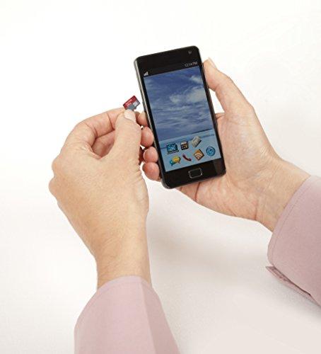 SanDisk Ultra Android microSDHC 32GB bis zu 80MB/Sek Class 10 Speicherkarte + SD-Adapter